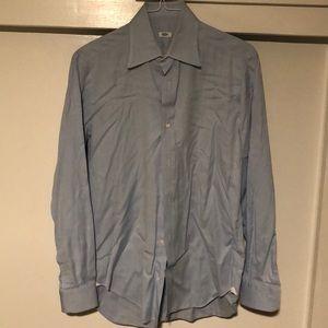 Men's Light Blue Button Down shirt by Barba Napoli